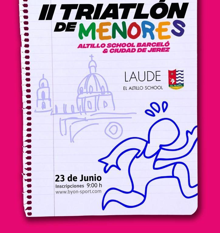 CARTEL II TRIATLON DE MENORES EL ALTILLO SCHOOL